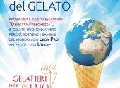 Ritorna il Buono del gelato in favore di Lega Pro per Unicef