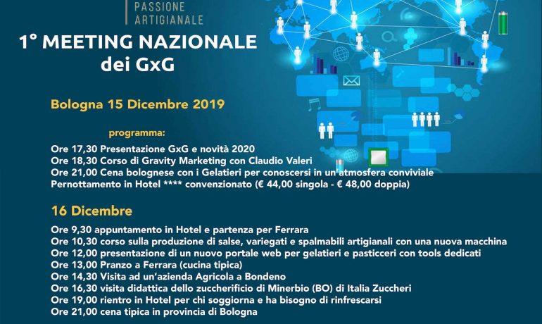 1 Meeting nazionale dei GxG