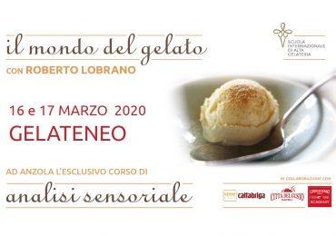 Corso sull'analisi sensoriale del gelato a Bologna