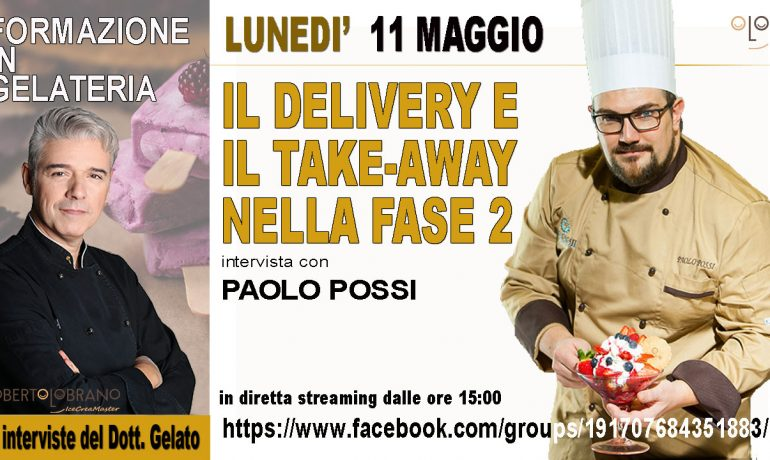 Il delivery e il take-away nella fase2